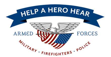 Help A Hero Hear - Logo